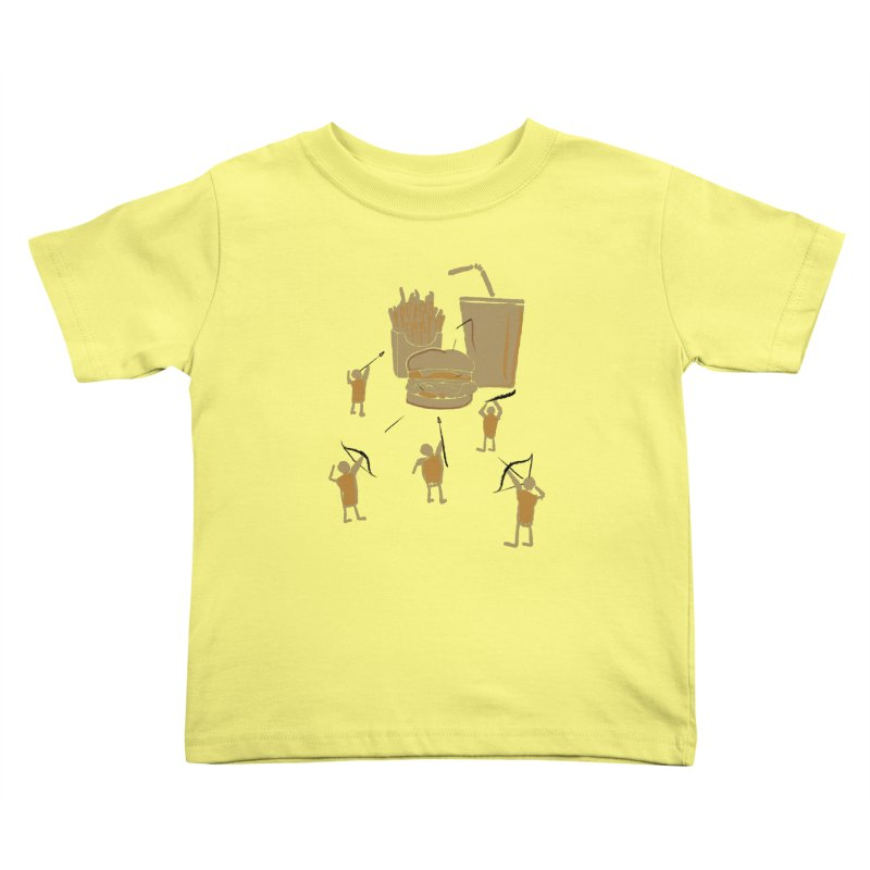 Hunting Party Finds Fast Food Kids Toddler T-Shirt by brandonjw's Artist Shop