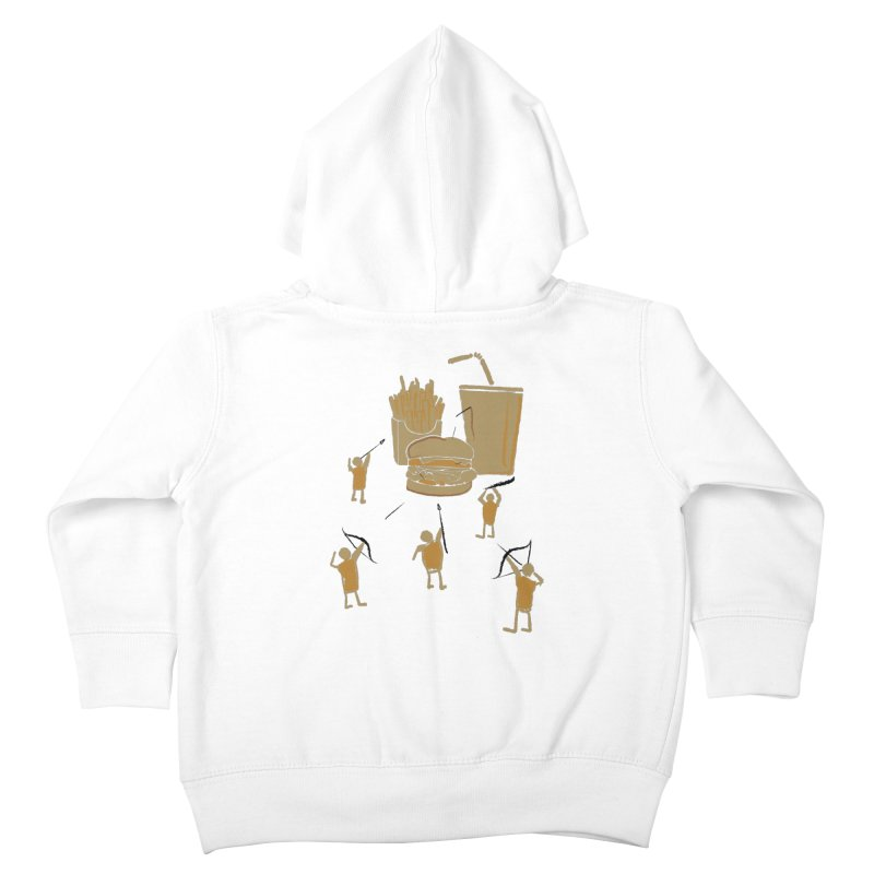 Hunting Party Finds Fast Food Kids Toddler Zip-Up Hoody by brandonjw's Artist Shop