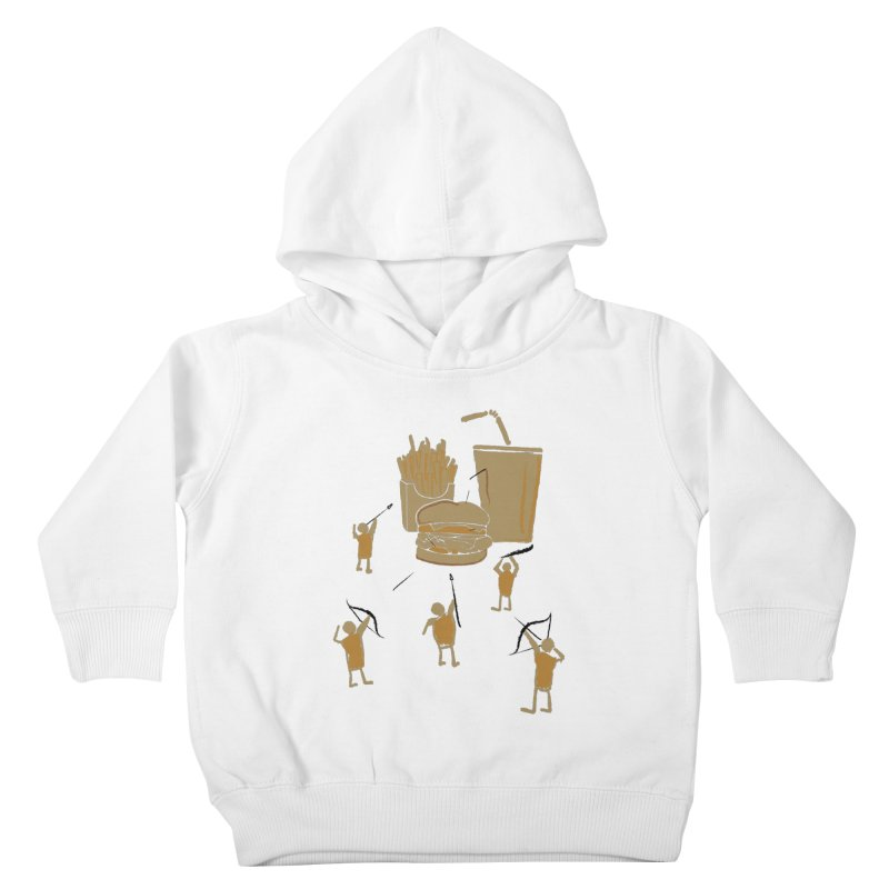 Hunting Party Finds Fast Food Kids Toddler Pullover Hoody by brandonjw's Artist Shop