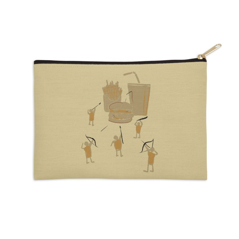 Hunting Party Finds Fast Food Accessories Zip Pouch by brandonjw's Artist Shop