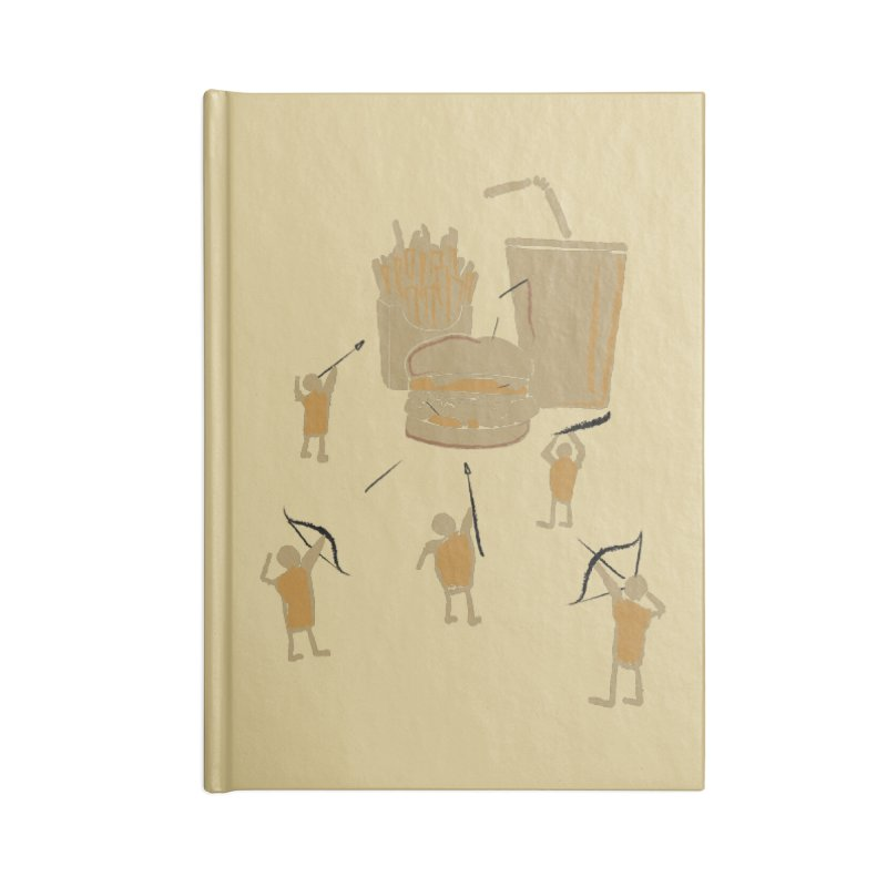 Hunting Party Finds Fast Food Accessories Notebook by brandonjw's Artist Shop