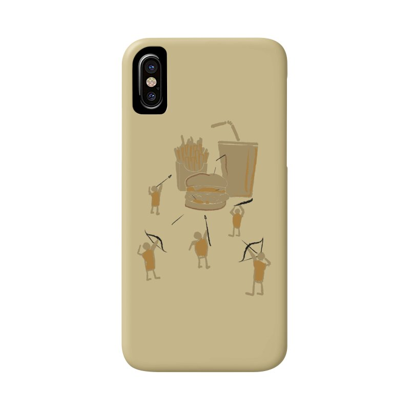 Hunting Party Finds Fast Food Accessories Phone Case by brandonjw's Artist Shop