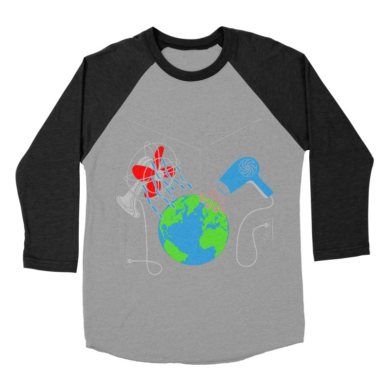 Cool It! Men's Baseball Triblend T-Shirt by brandonjw's Artist Shop