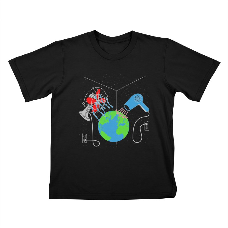 Cool It! Kids T-shirt by brandonjw's Artist Shop