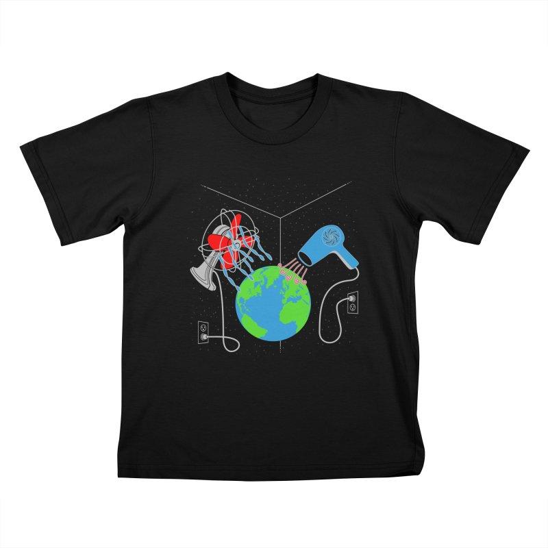 Cool It! Kids T-Shirt by brandonjw's Artist Shop