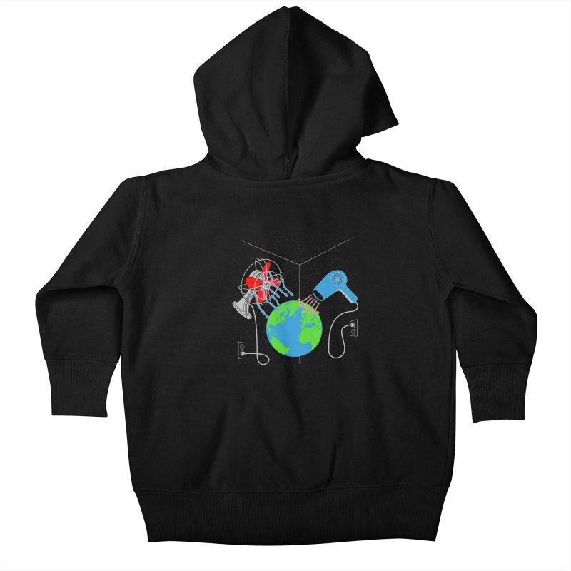 Cool It! Kids Baby Zip-Up Hoody by brandonjw's Artist Shop
