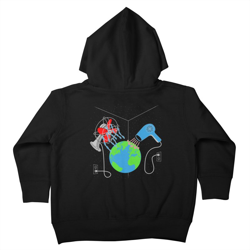 Cool It! Kids Toddler Zip-Up Hoody by brandonjw's Artist Shop
