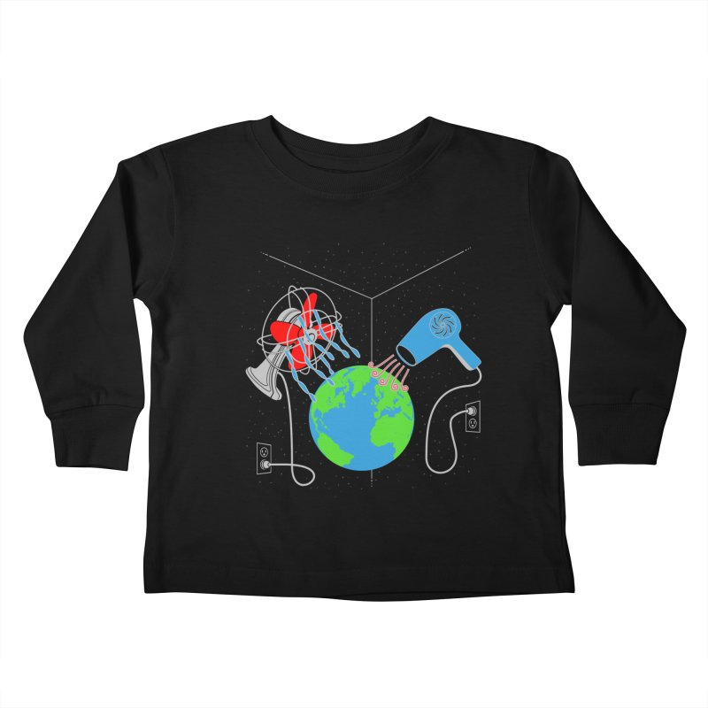 Cool It! Kids Toddler Longsleeve T-Shirt by brandonjw's Artist Shop