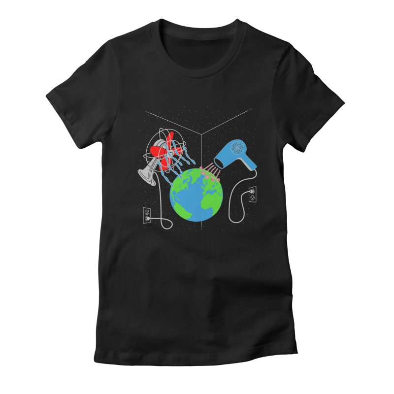 Cool It! Women's Fitted T-Shirt by brandonjw's Artist Shop
