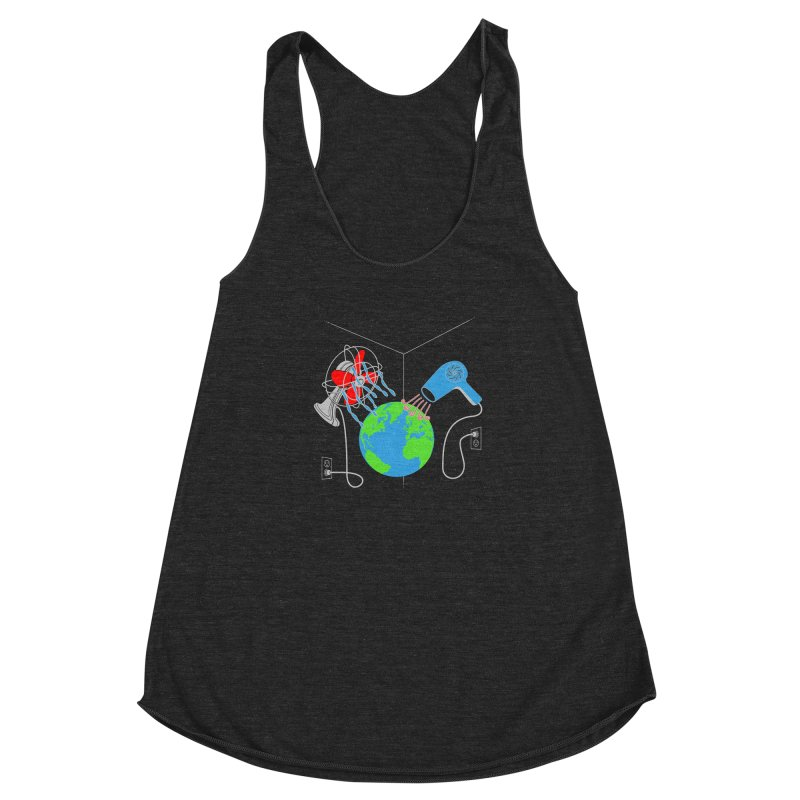 Cool It! Women's Racerback Triblend Tank by brandonjw's Artist Shop
