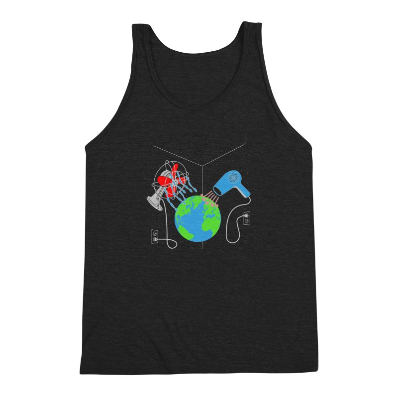 Cool It! Men's Triblend Tank by brandonjw's Artist Shop