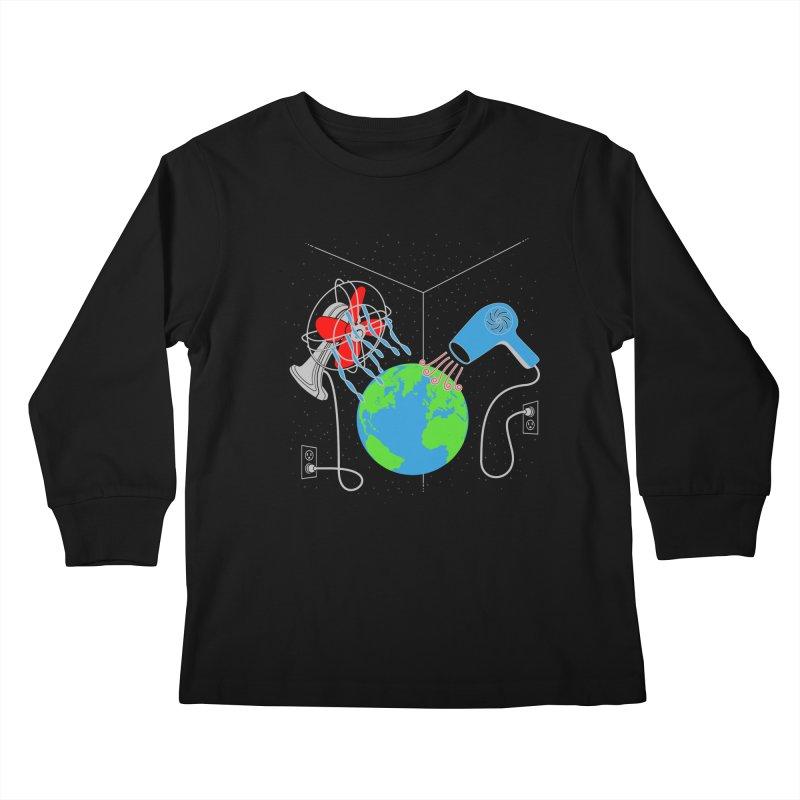 Cool It! Kids Longsleeve T-Shirt by brandonjw's Artist Shop