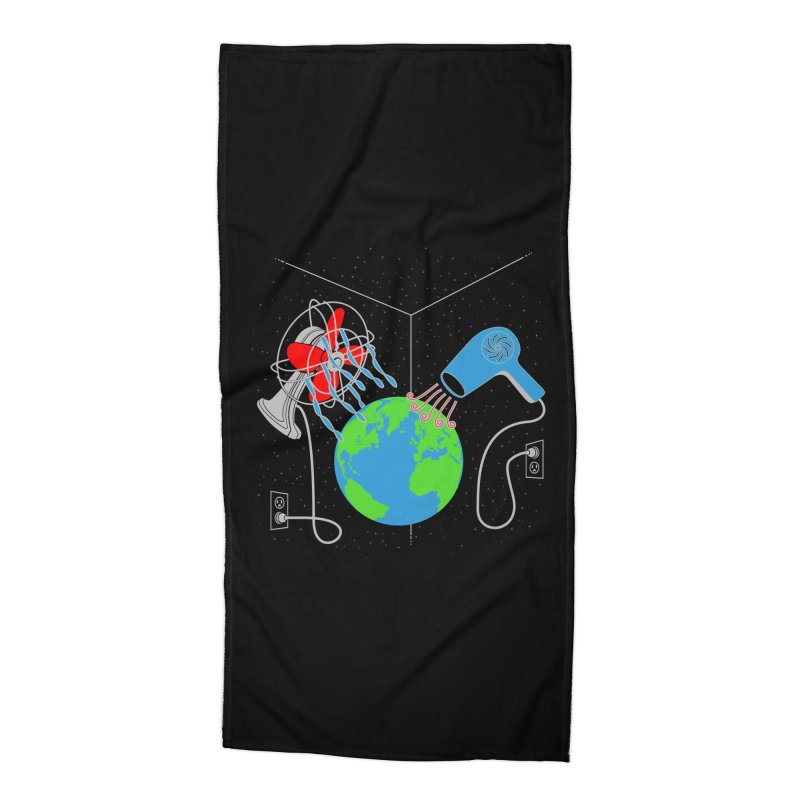 Cool It! Accessories Beach Towel by brandonjw's Artist Shop