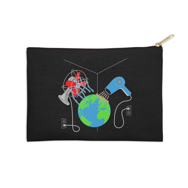 Cool It! Accessories Zip Pouch by brandonjw's Artist Shop