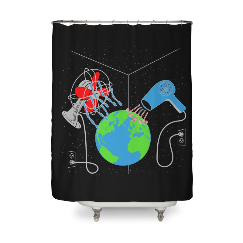 Cool It! Home Shower Curtain by brandonjw's Artist Shop