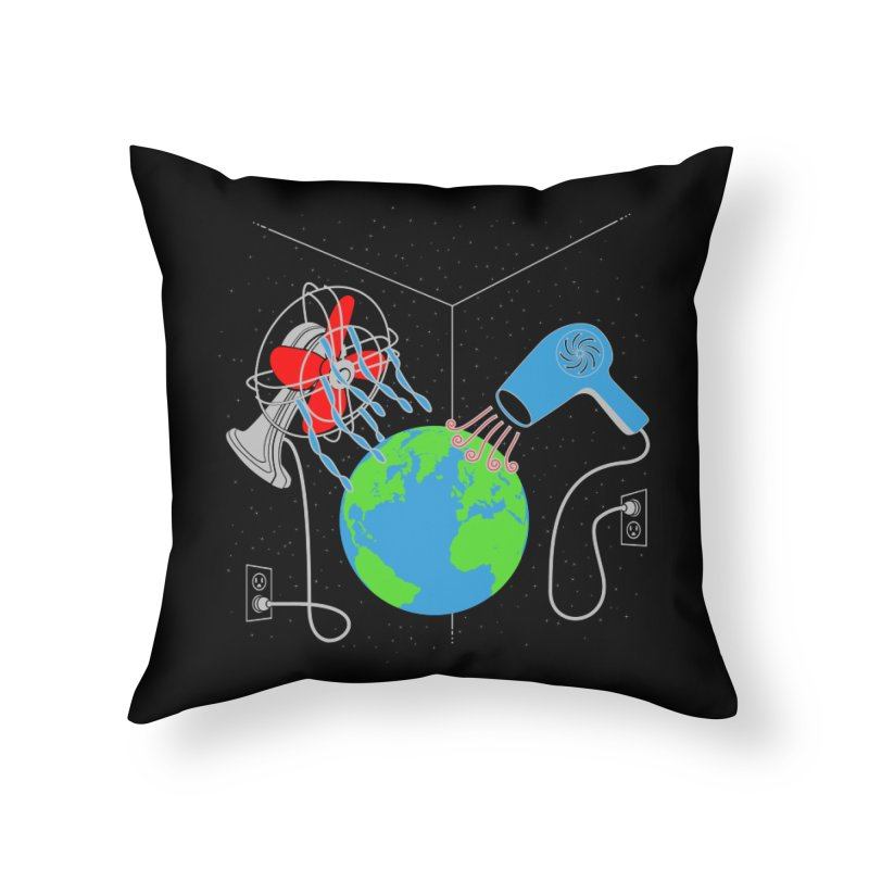 Cool It! Home Throw Pillow by brandonjw's Artist Shop
