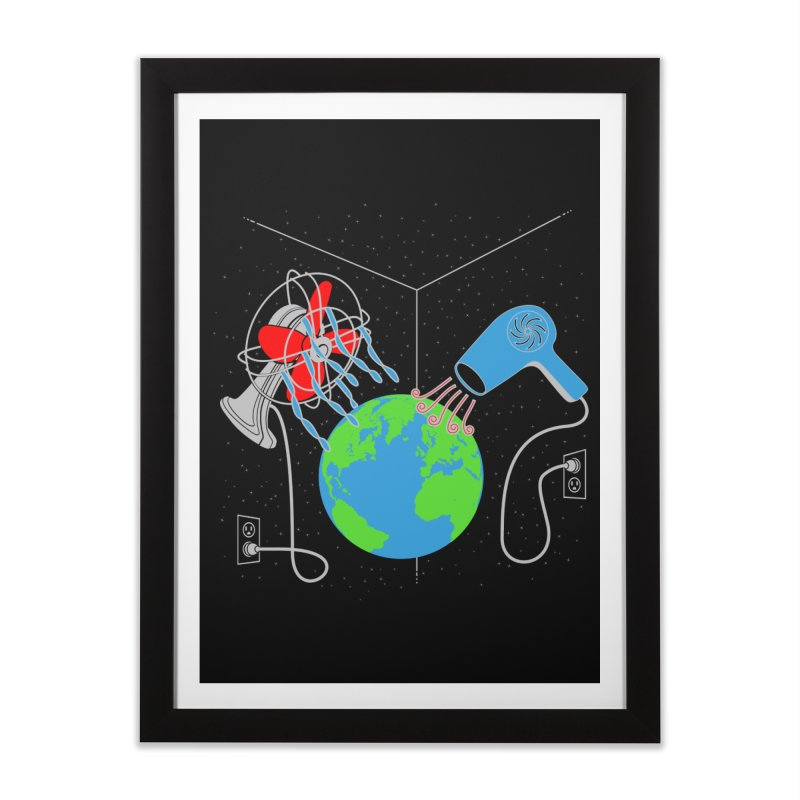 Cool It! Home Framed Fine Art Print by brandonjw's Artist Shop