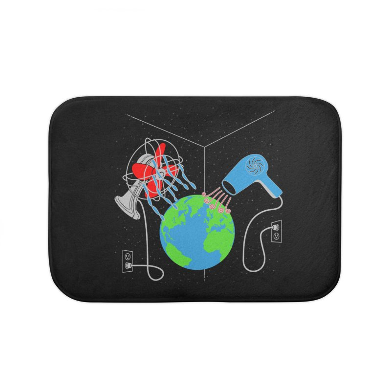 Cool It! Home Bath Mat by brandonjw's Artist Shop