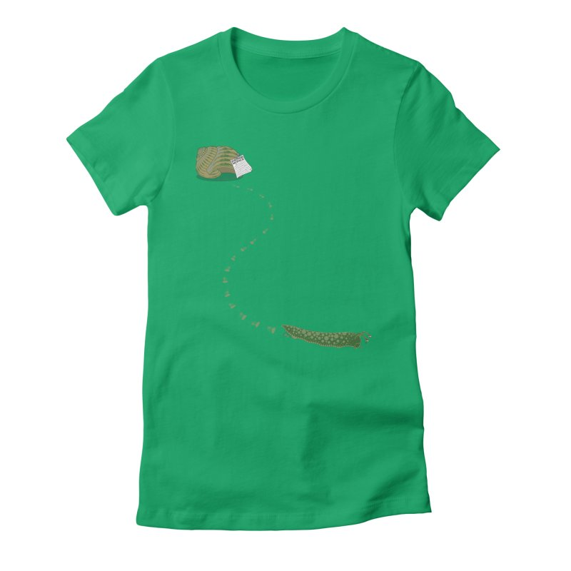 Evictions are Sad Women's Fitted T-Shirt by brandonjw's Artist Shop