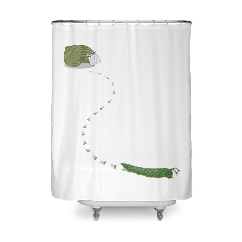 Evictions are Sad Home Shower Curtain by brandonjw's Artist Shop