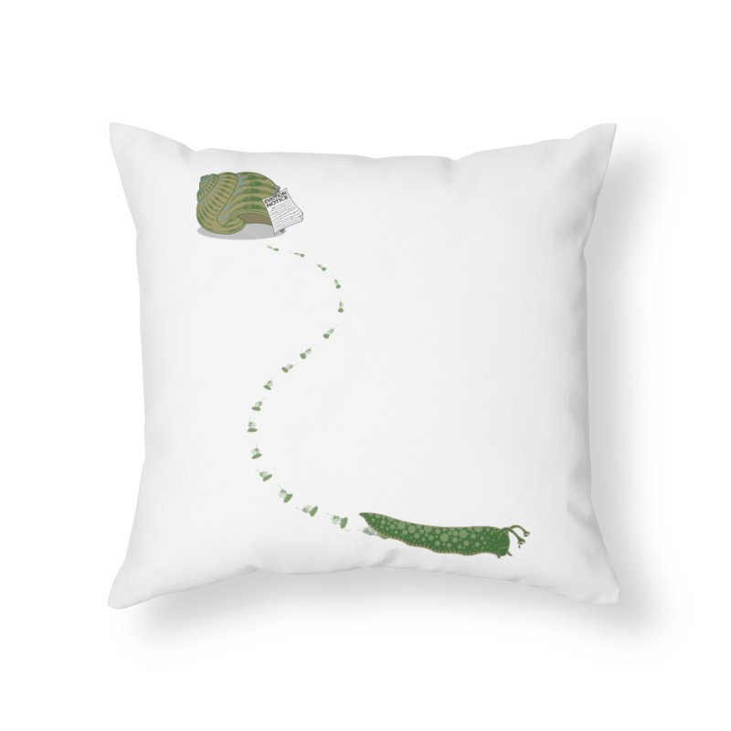 Evictions are Sad Home Throw Pillow by brandonjw's Artist Shop