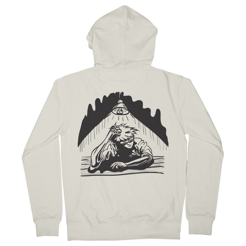 Just One of those Days Men's Zip-Up Hoody by Wood-Man's Artist Shop