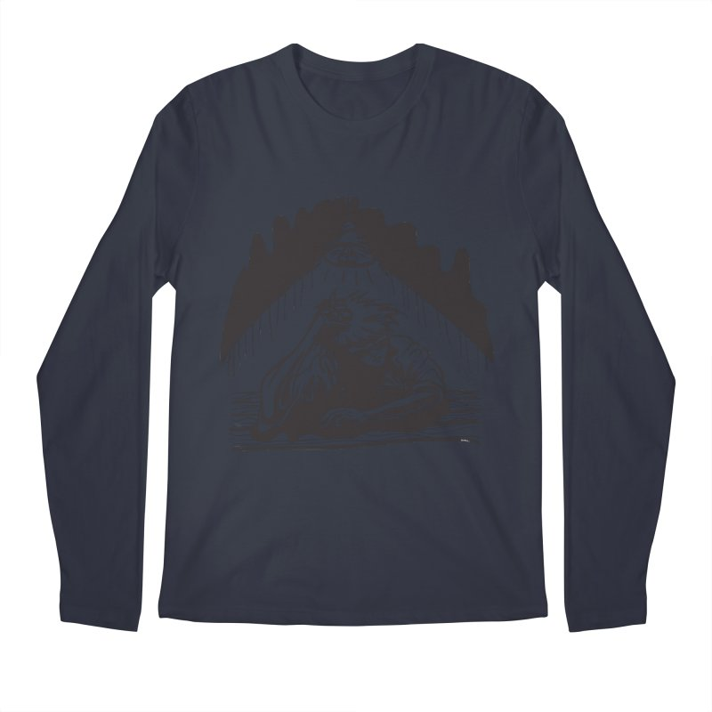 Just One of those Days Men's Longsleeve T-Shirt by Wood-Man's Artist Shop
