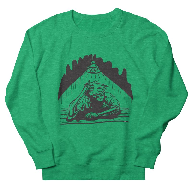 Just One of those Days Men's Sweatshirt by Wood-Man's Artist Shop