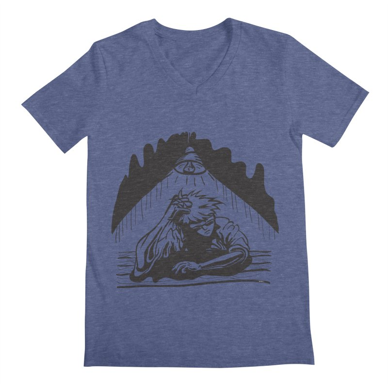 Just One of those Days Men's V-Neck by Wood-Man's Artist Shop
