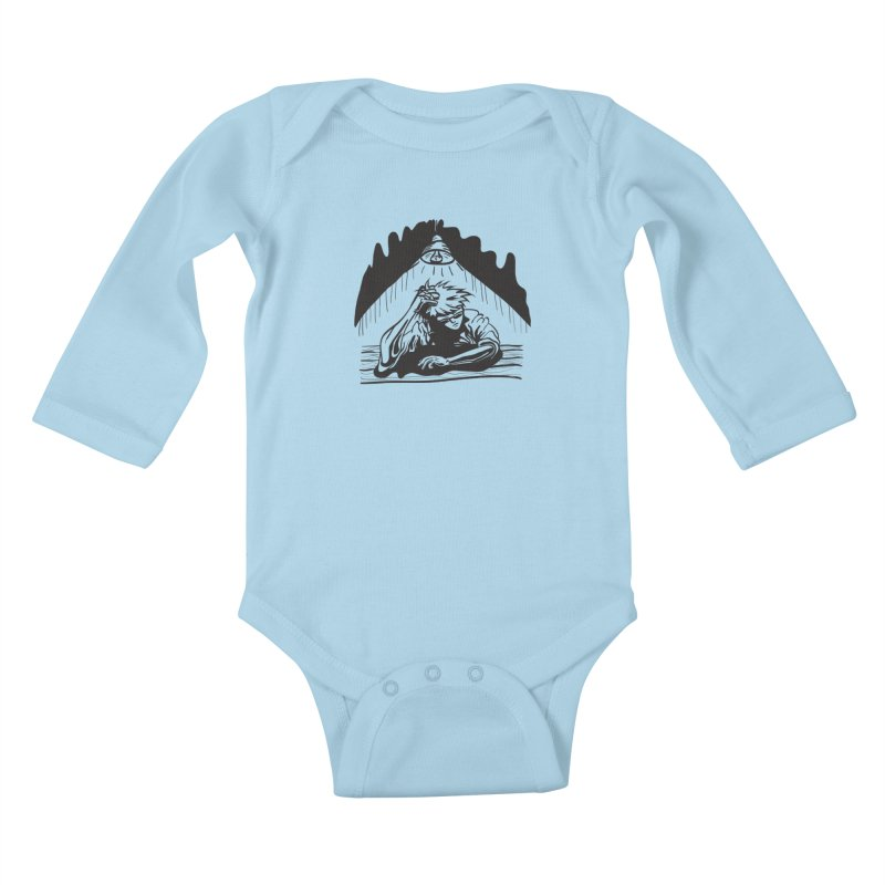 Just One of those Days Kids Baby Longsleeve Bodysuit by Wood-Man's Artist Shop