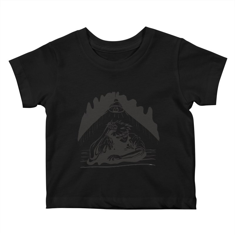 Just One of those Days Kids Baby T-Shirt by Wood-Man's Artist Shop