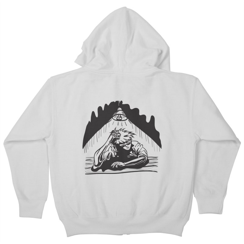 Just One of those Days Kids Zip-Up Hoody by Wood-Man's Artist Shop