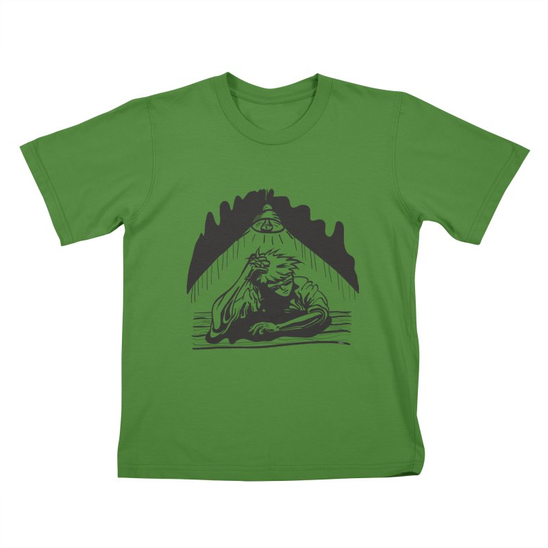 Just One of those Days Kids T-shirt by Wood-Man's Artist Shop