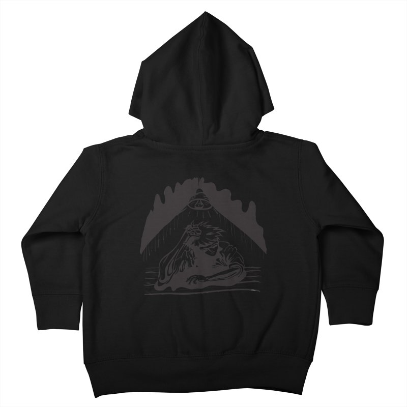 Just One of those Days Kids Toddler Zip-Up Hoody by Wood-Man's Artist Shop
