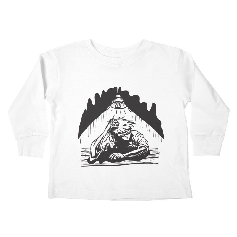 Just One of those Days Kids Toddler Longsleeve T-Shirt by Wood-Man's Artist Shop