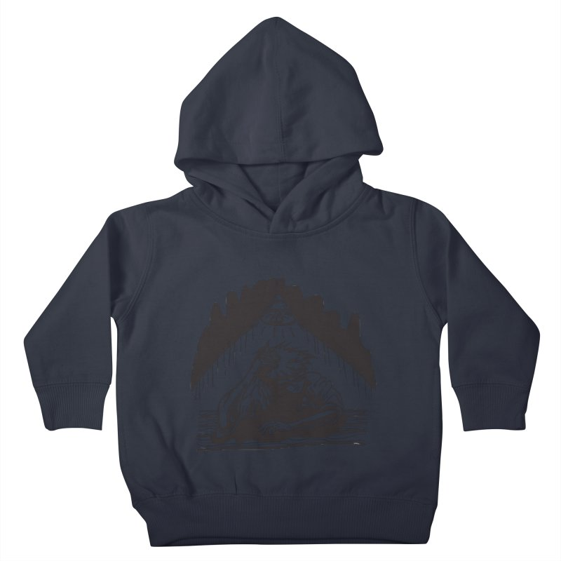 Just One of those Days Kids Toddler Pullover Hoody by Wood-Man's Artist Shop