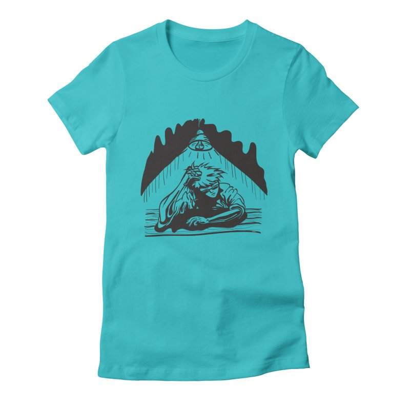 Just One of those Days Women's Fitted T-Shirt by Wood-Man's Artist Shop