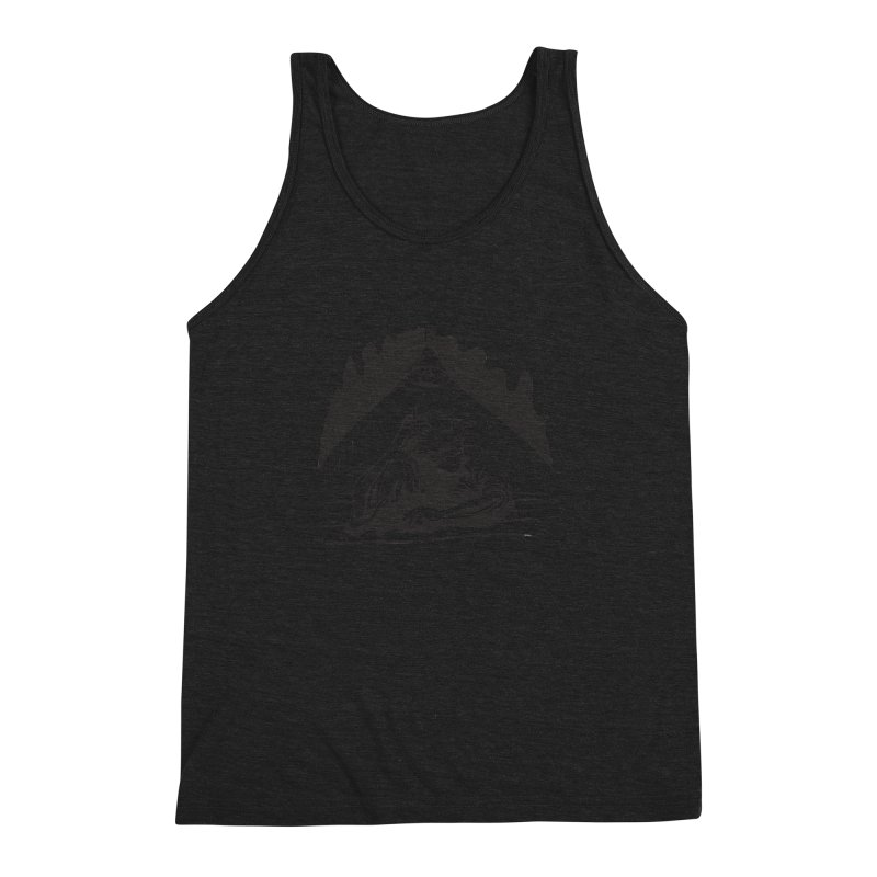 Just One of those Days Men's Triblend Tank by Wood-Man's Artist Shop