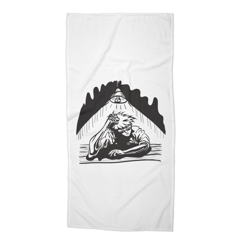 Just One of those Days Accessories Beach Towel by Wood-Man's Artist Shop