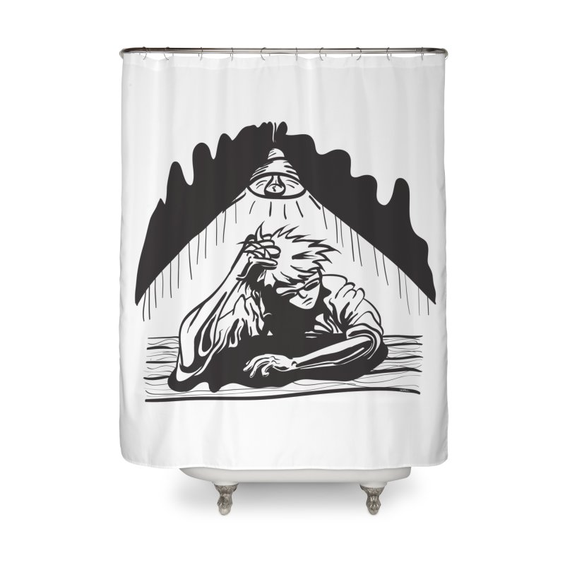 Just One of those Days Home Shower Curtain by Wood-Man's Artist Shop