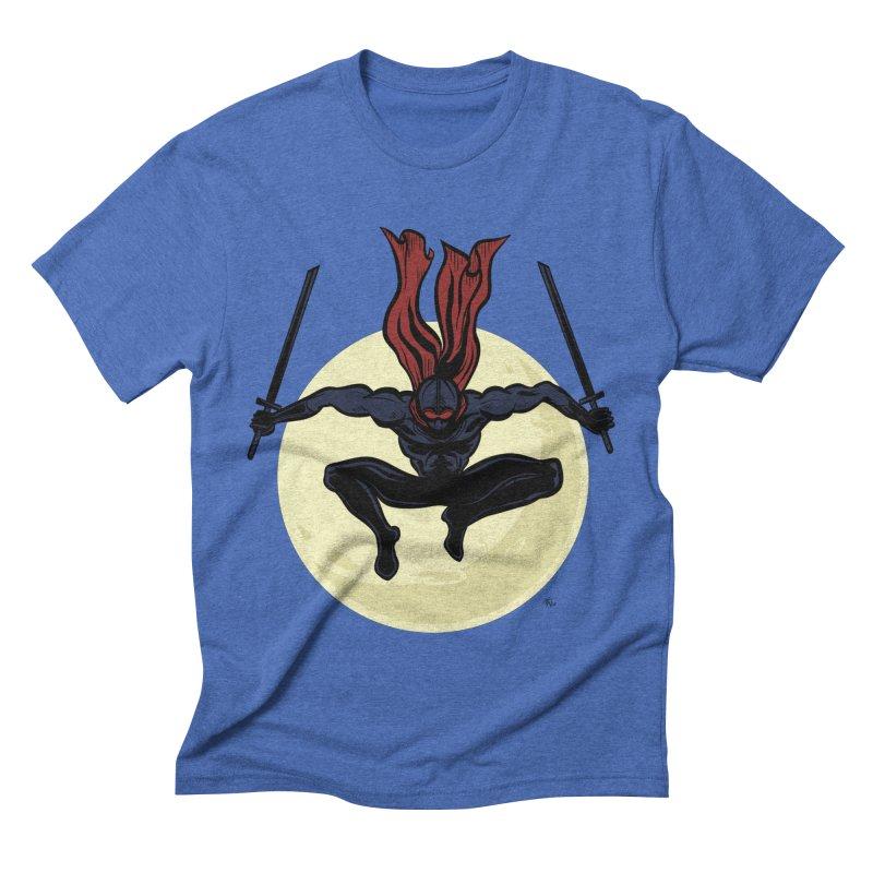 Moonlight Ninja Men's T-Shirt by Wood-Man's Artist Shop