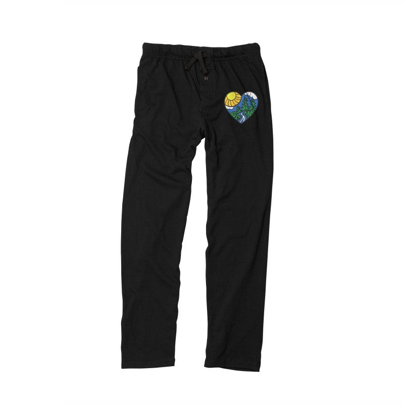 The Great Outdoors Men's Lounge Pants by Wood-Man's Artist Shop
