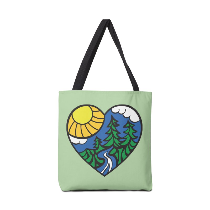 The Great Outdoors Accessories Bag by Wood-Man's Artist Shop