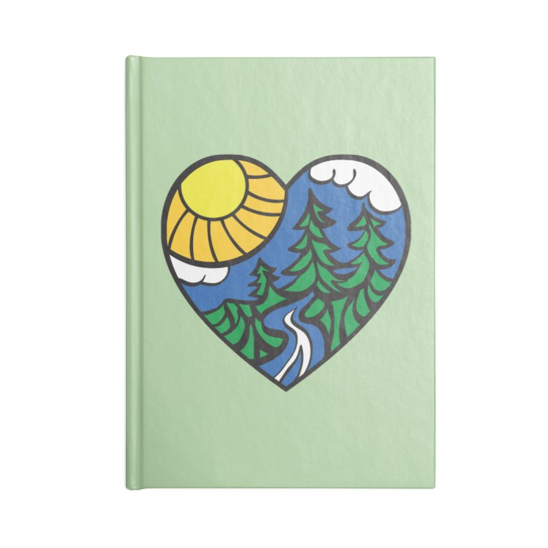 The Great Outdoors Accessories Notebook by Wood-Man's Artist Shop