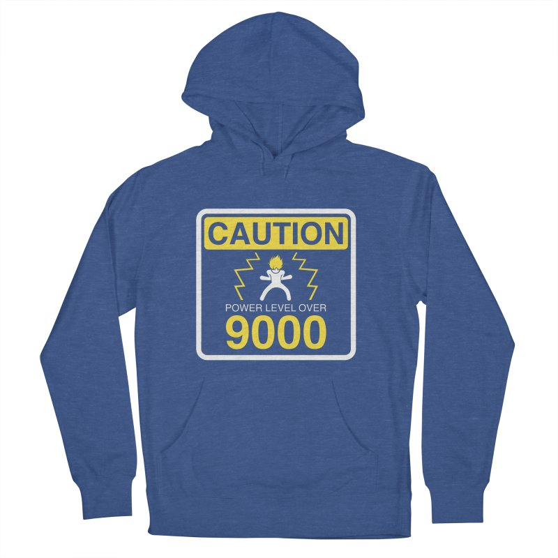 CAUTION: Power Level Over 9000 Men's Pullover Hoody by Wood-Man's Artist Shop