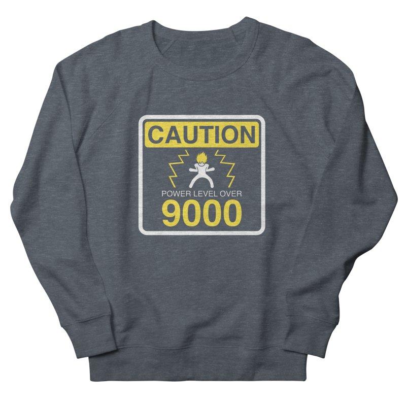 CAUTION: Power Level Over 9000 Women's Sweatshirt by Wood-Man's Artist Shop
