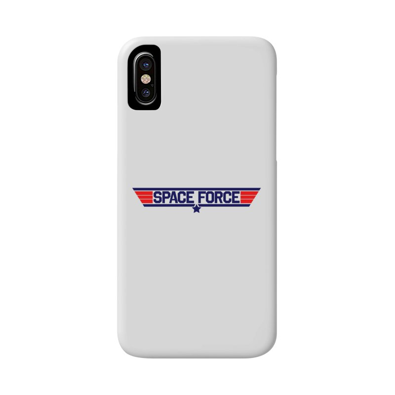 Space Force Accessories Phone Case by Wood-Man's Artist Shop
