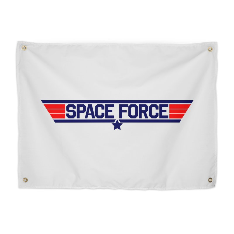 Space Force Home Tapestry by Wood-Man's Artist Shop