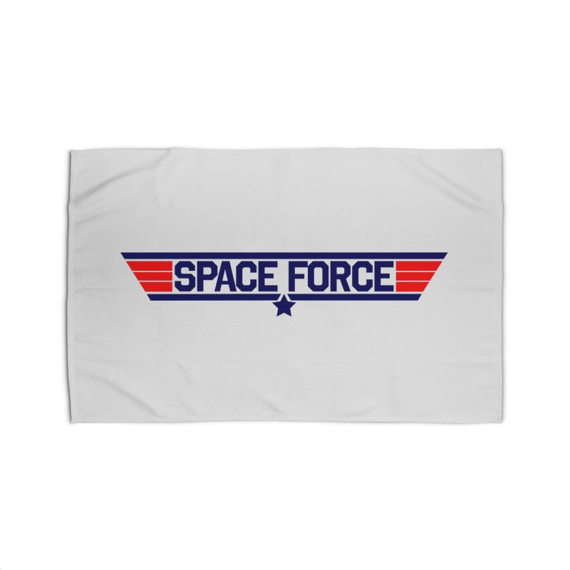 Space Force Home Rug by Wood-Man's Artist Shop
