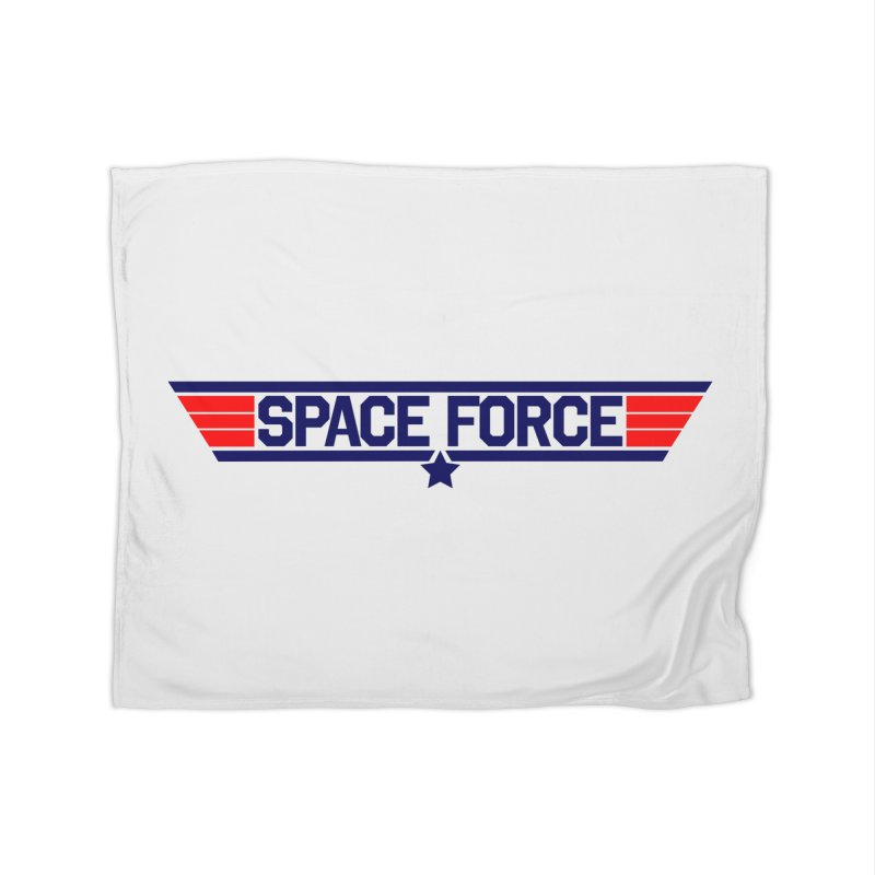 Space Force Home Blanket by Wood-Man's Artist Shop